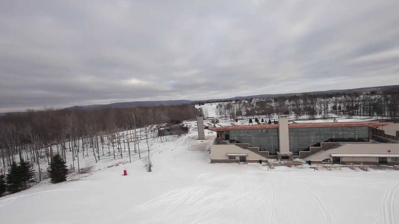 unexpected winter at nemacolin woodlands resort - youtube