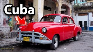 What Cars are Like in Cuba