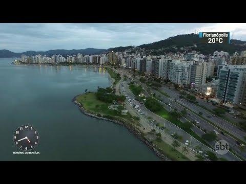 Turismo de negócios movimenta economia de Santa Catarina | SBT Notícias (12/10/17)