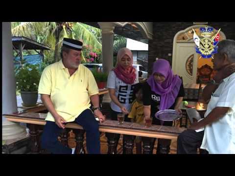Sultan Johor Ronda Kg Lepau Naik Kapcai