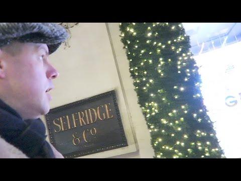 Selfridges Christmas windows 2016 Oxford Street London