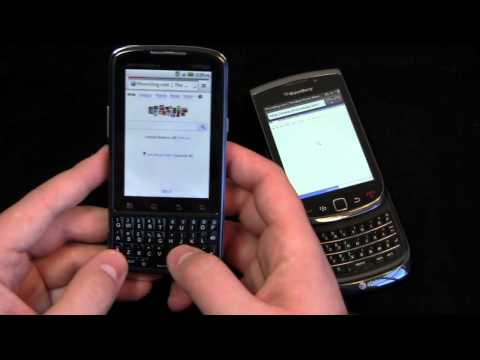 Motorola Droid Pro vs. BlackBerry Torch Dogfight Part 1