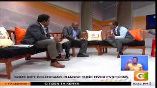MAU Eviction Divide - One on One with Isaac Ruto and Ledama Olekina(Part 1) #JKL