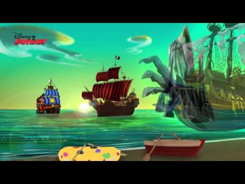 Captain Jake and the Never Land Pirates | Ghost Island | Disney Junior UK
