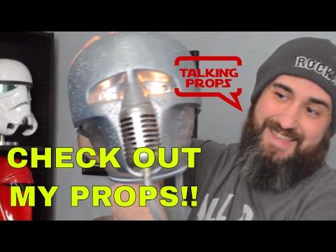 Prop Room Tour - Trooper Trent Talks Props