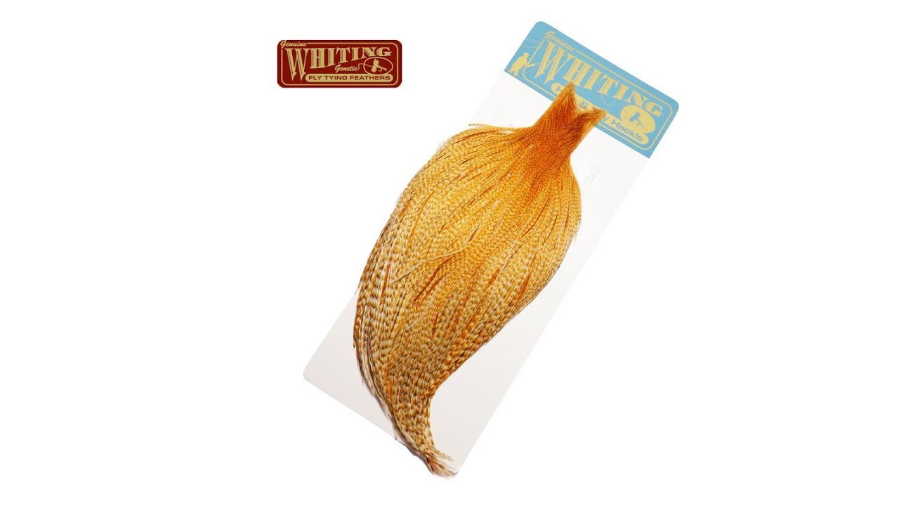 Whiting High & Dry Rooster Cape Dry Fly Tying Feathers