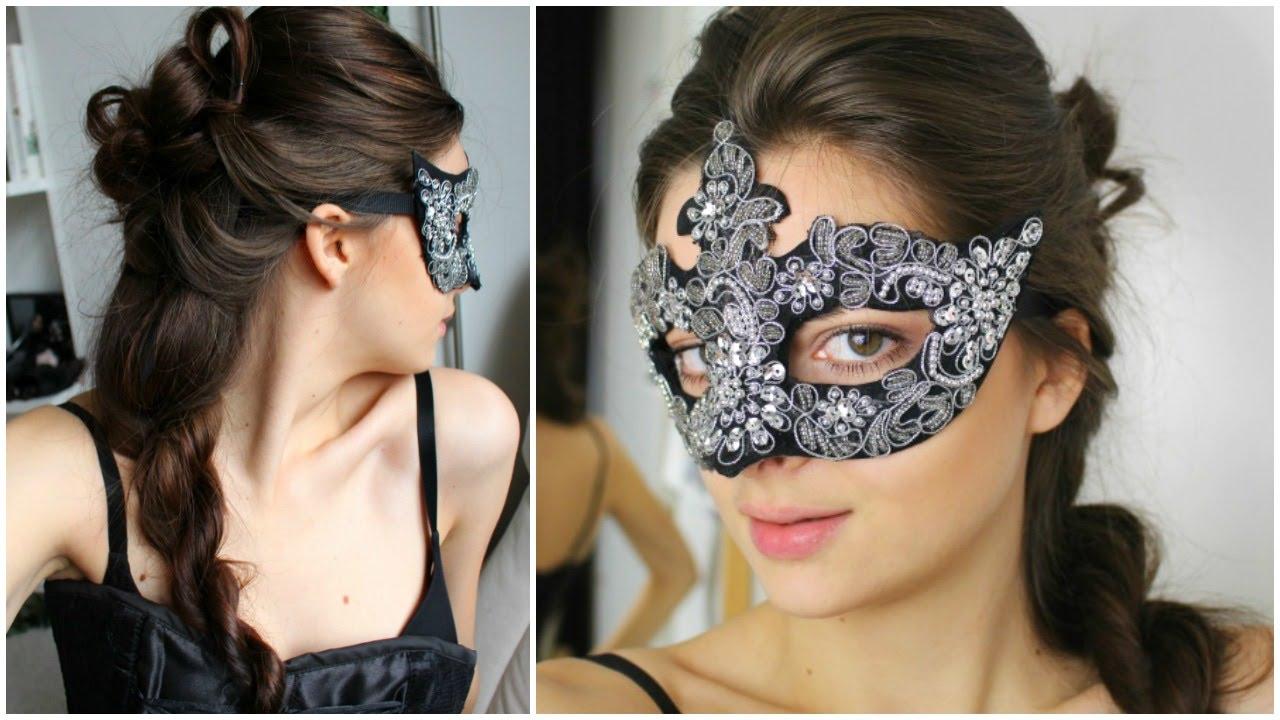 Masquerade Hairstyle - YouTube