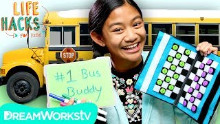Bored On a Bus Hacks | LIFE HACKS FOR KIDS