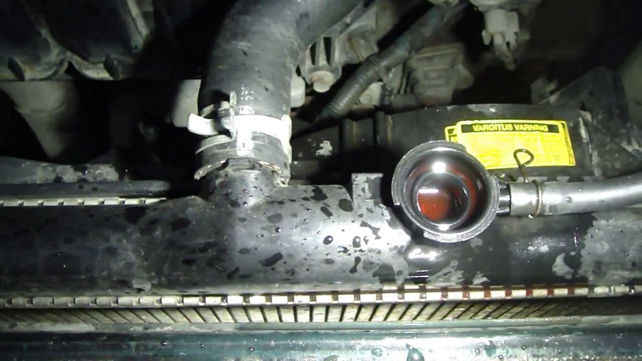 How To Change Coolant Fluid Toyota Corolla Vvti Engine