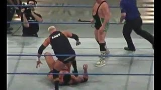 WWE Batista vs Fit Finlay and Mr Kennedy - Smackdown Revenge Tour 2007