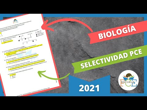 Download ✔️ EXAMEN SELECTIVIDAD PCE BIOLOGÍA 2021 RESUELTO