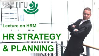 How are company strategy and HR strategy related? As part of an HR ...