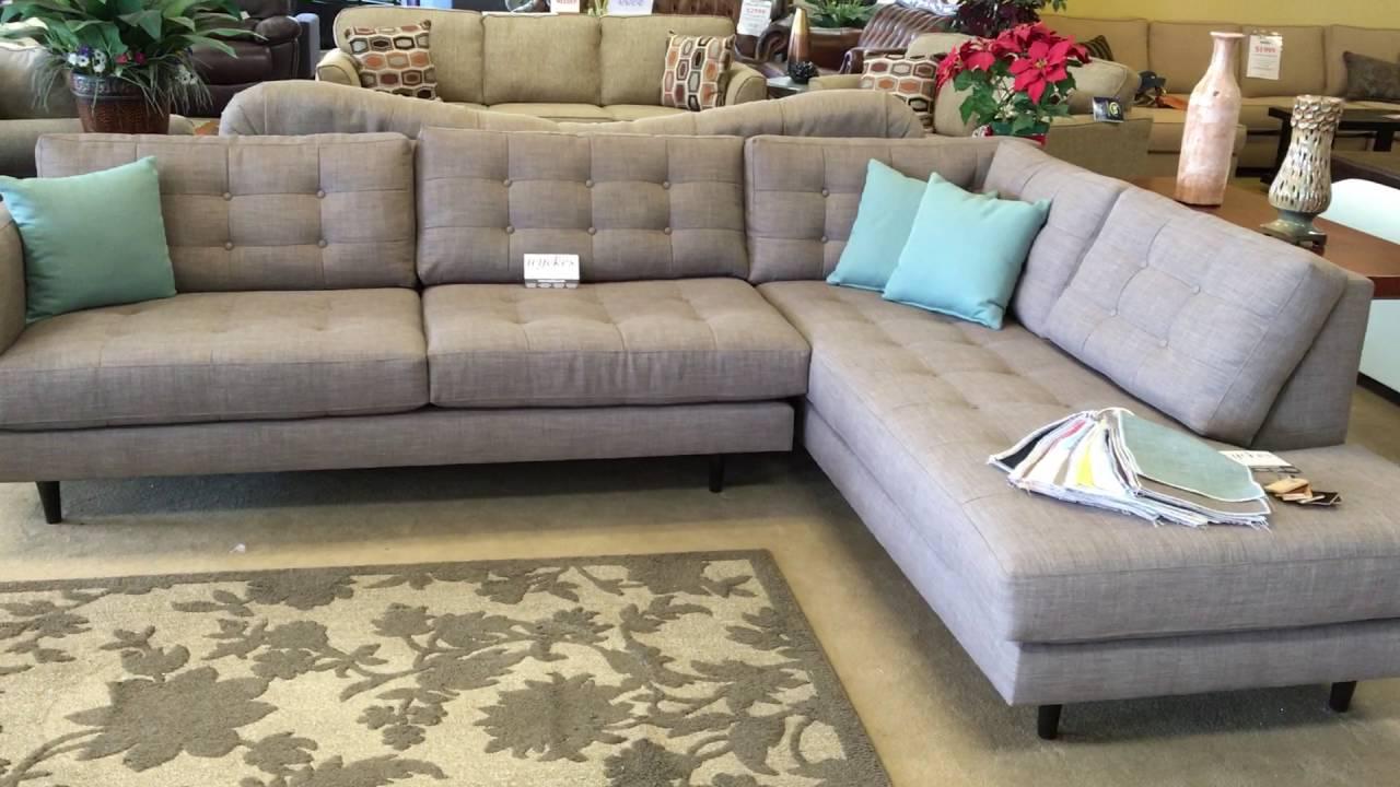 Urban Innovation By Wyckes Oliver Mid Century Modern Custom Sectional Sofa