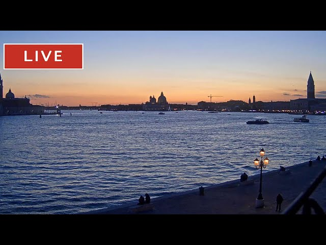 Venice Live Cam - San Marco Basin in Live Streaming