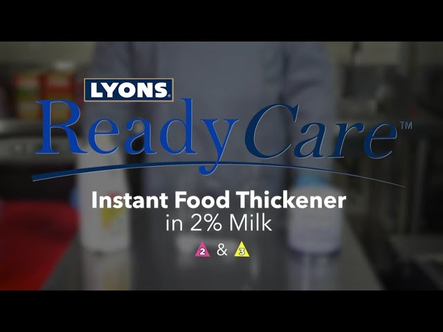 Instant Food Thickener in 2% Milk