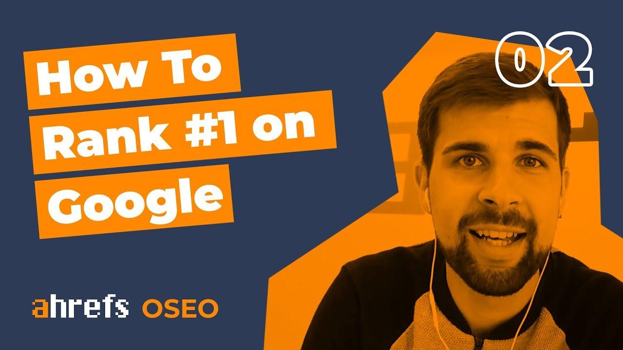 Rank #1 On Google For ANY Keyword