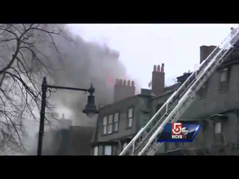 Fire dispatch call orders firefighters to stay out of Back Bay building