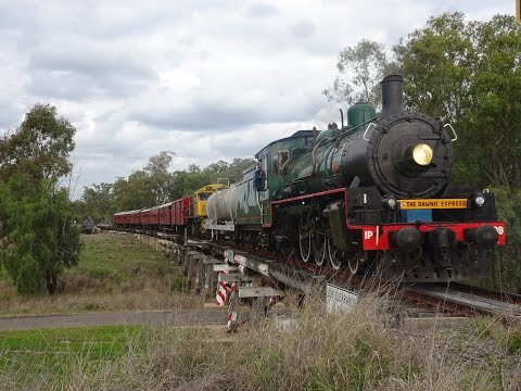 BB18 ¼ 1089 - The Dawnie Express - Toowoomba to Roma - 8/09/2016