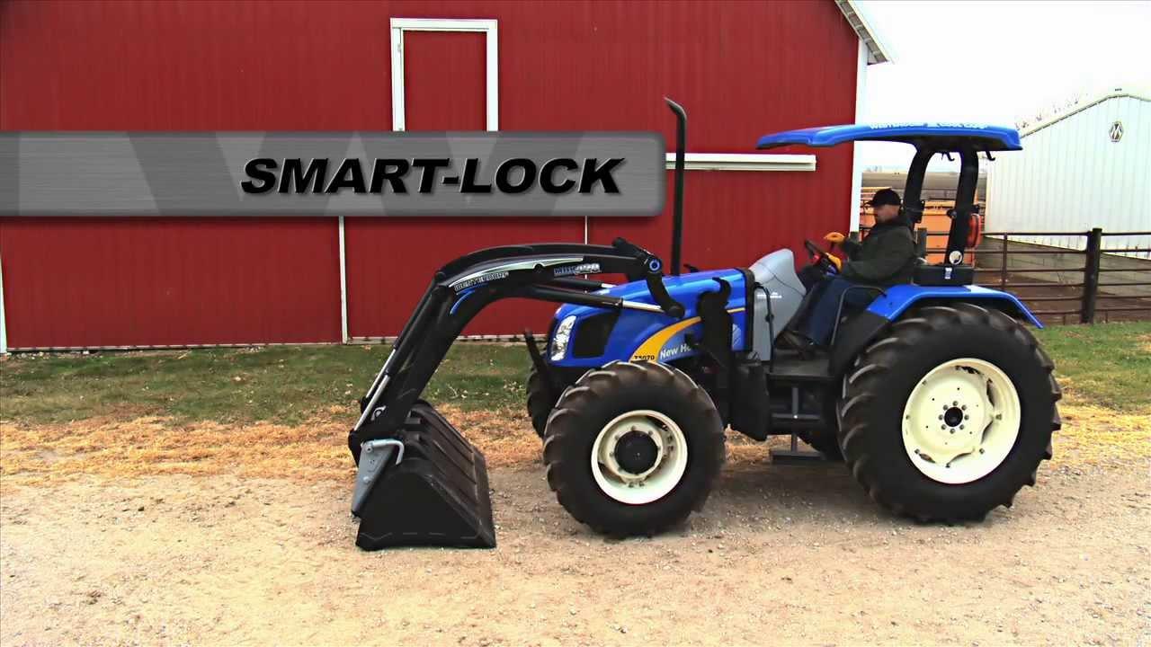 Smart-Lock - Dismount a tractor loader the Westendorf Way
