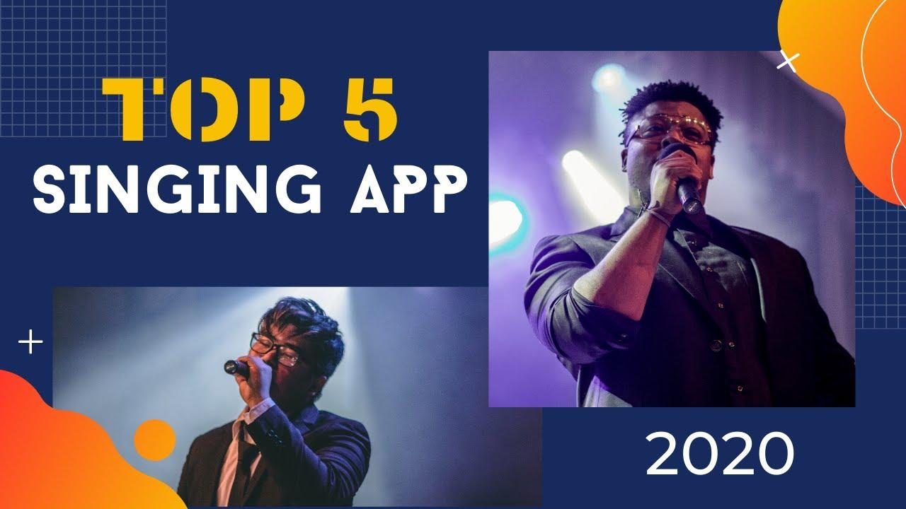 Top 5 Singing App for Hindi Karaoke Song   For Indian singers ...