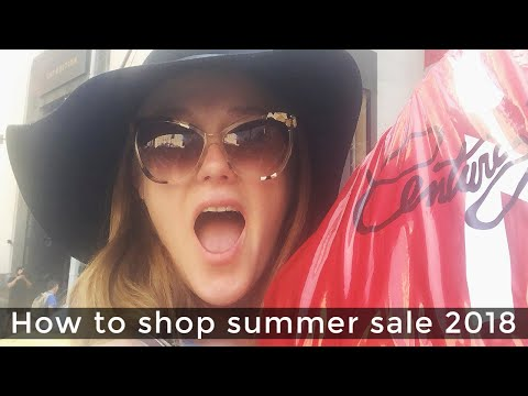 Summer sale 2018 for women over 40 - How to shop sales