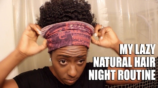 When I don't Twist My Hair at Night| HERGIVENHAIR| BEAUTYCUTRIGHT