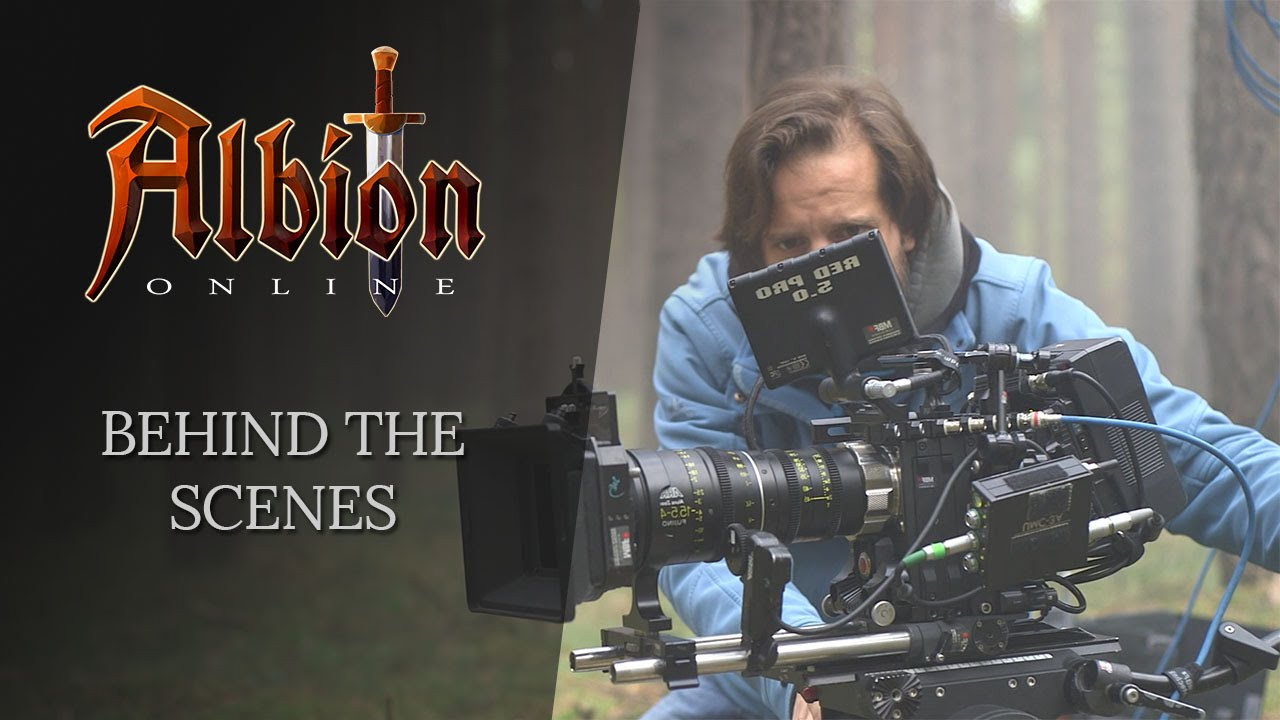 Albion online behind the scenes live action short youtube