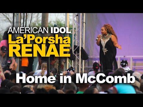 La'Porsha Renae's Homecoming Concert in McComb, Mississippi