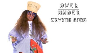 Erykah Badu Rates Aliens, Period Tracker Apps, and Porky Pig | Over/Under