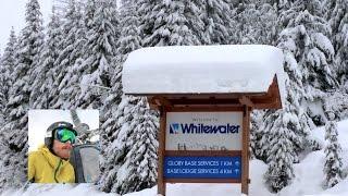 Powder Skiing at Whitewater Ski Resort Nelson Feb 2016