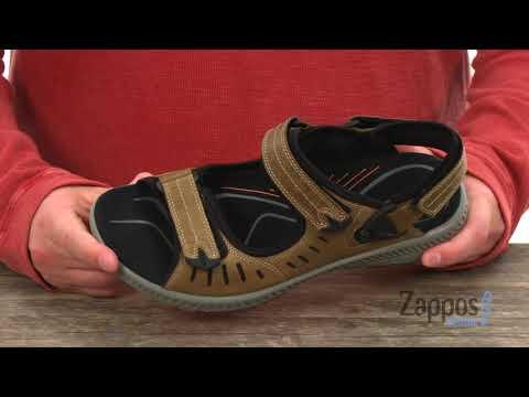 Ecco Offroad Herren Sandale navajo braun (182 36 0002) YouTube