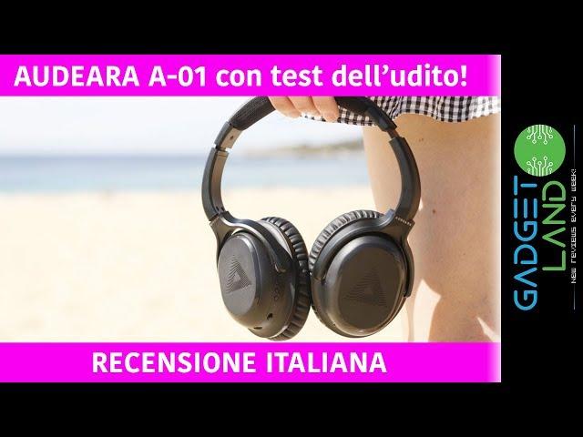 Recensione AUDEARA A-01 | Le cuffie con TEST UDITO incorporato!