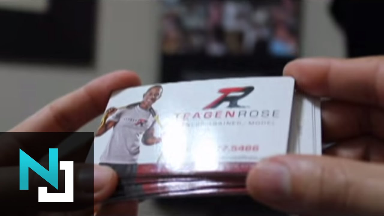 High Quality Business Cards - YouTube