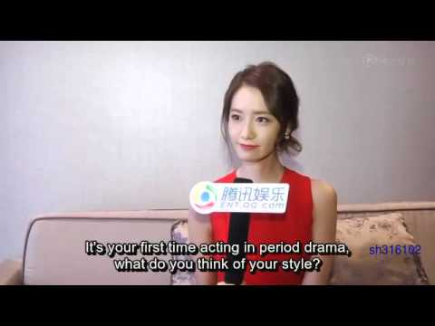 [Eng] 160411 YoonA - Tencent Interview