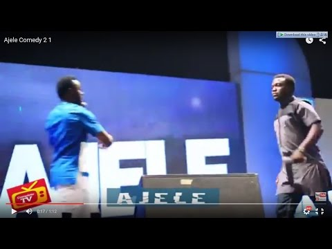 Video (stand-up): Ajele Performing at Fast and Funny Show (part 2)