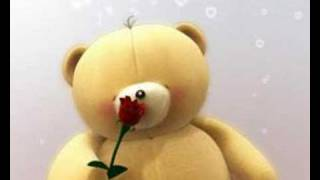 Forever Friends Bear - Flower for you