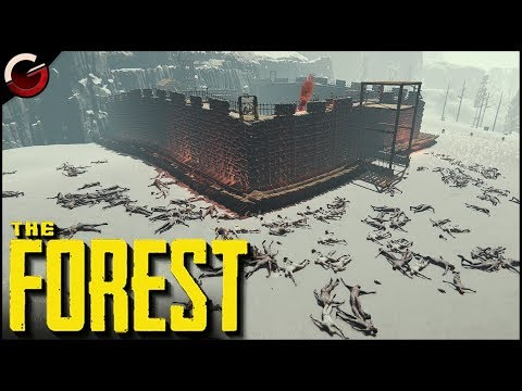 MOST SECURE CASTLE BASE! The Ultimate Prison Fortress | The Forest Gameplay