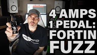 4 Amps, 1 Pedal: Fortin Fuzz (Friedman, KSR, Henning, Quilter)
