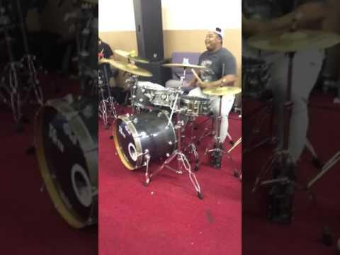 Drum Workout shed Zaya Johnson, Shajuan Andrews, GA Greatful Anointed, Devin Harris