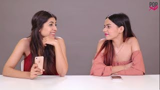 Komal & Upalina Take On The Bollywood Dialogues Challenge - POPxo