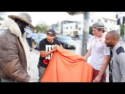 Emotional Surprise For Homeless Man