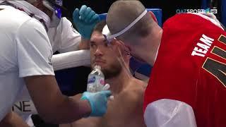 Профессиональный бокс. Али Ахмедов (Казахстан) – Карлос Гонгора (Эквадор)