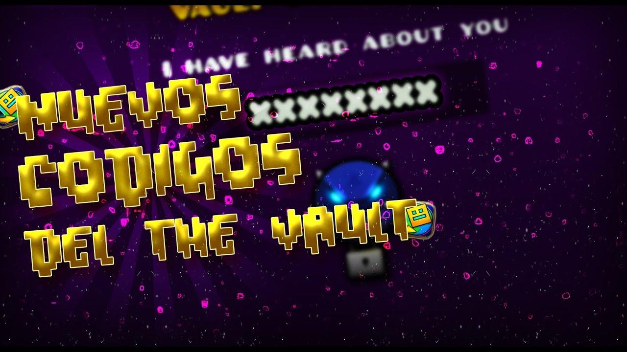 Los c digos del nuevo vault of secrets geometry dash for Vault of secrets