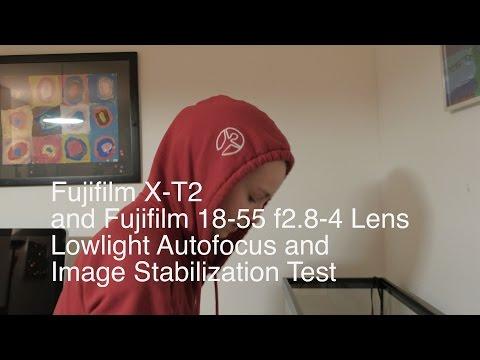 Fujifilm X-T2 Autofocus and Image Stabilization Test