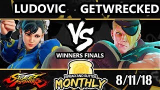 BnB 5 SFV - Ludovic (Chun-Li) Vs. geTwreCked (Ed) - Street Fighter V Winners Finals