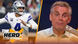 Tua Tagovailoa should start Week 1, Colin explains why Dak is difficult to evaluate | NFL | THE HERD
