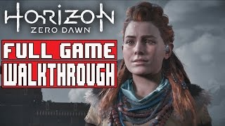 Horizon Zero Dawn Gameplay Walkthrough Part 1 Full Game (PS4 Pro) - No Commentary