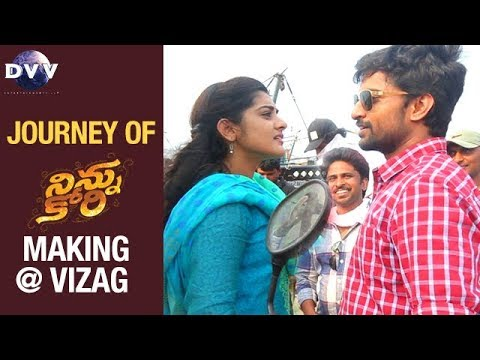 NINNU KORI Movie Making Journey At Vizag | Nani | Nivetha Thomas | Aadhi | DVV Entertainments