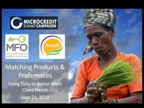 Panel on Microfinance Product Development (Bankers without Borders, June 2013)