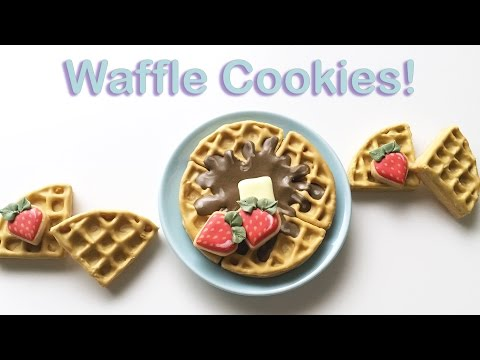 How To Decorate Waffle Cookies!